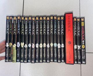 漫畫《XXXHOLIC》全套共19集+第17集特典動畫光碟《籠》+官方設定資料集!
