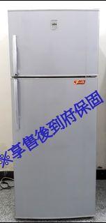 聲寶360L白金雙脫臭雙門冰箱 SR-D46Q