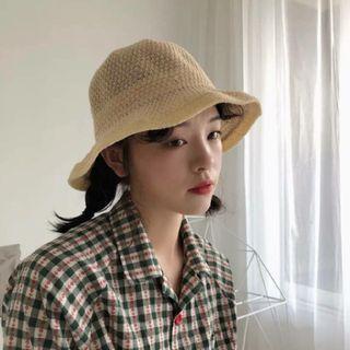 夏日可愛編織帽#618