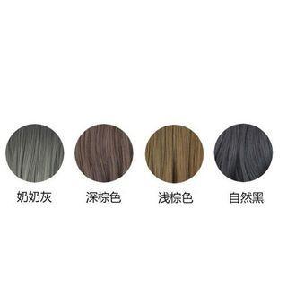 黑色辮子假髮劉海髮箍