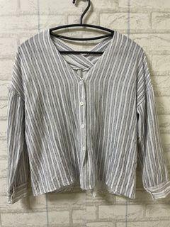 條紋 襯衫