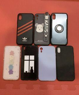 全新二手 iPhone XR手機殼 KAWS/Adidas/素色/免費