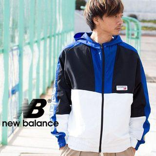 日本購入 New balance 連帽風衣外套 #618 運動外套 AMJ91506TRY NB
