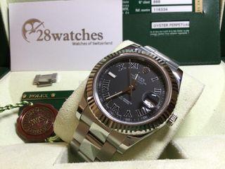 二手 Rolex Datejust 116334 行貨 - 28watches