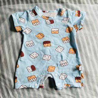 Baby romper one piece 0-3 mth