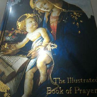 Buku Rohani - Book of prayers - Illustrated art book Jesus Christian Catholic Hardcover