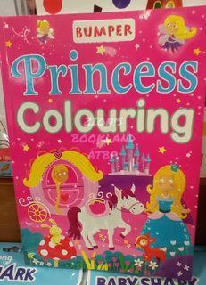 BUMPER PRINCESS COLOURING BOOK