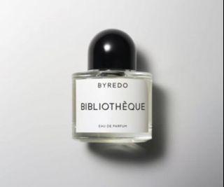 BYREDO Bibliothèque 香精 50ml