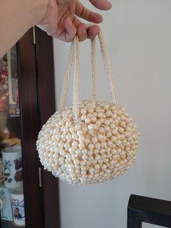 Cachellie Pearl Beads Bag