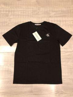 Calvin Klein 正品 男款刺繡標短袖T恤