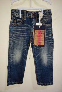 Celana jeans anak unisex