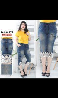 celana levis jeans jumbo