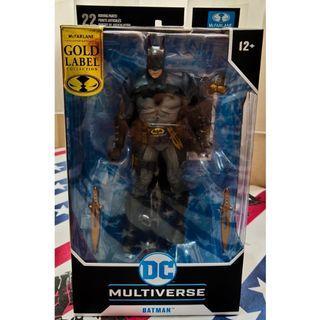 DC Multiverse Batman - McFarlane Gold label