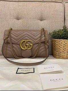 Gucci Marmont Medium  GG Chain