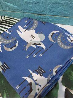 Hijab Square motif unik