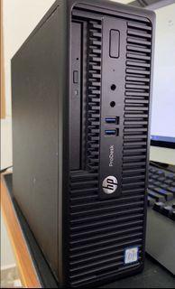 i3-6100,4GB DDR4, HP Prodesk 400 G3 MT Business PC (4GB ram, 500GB Hdd with windows 10 pro Ori