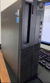 i7-3770, 4GB Ram Lenovo Thinkcenter M72 ( 4GB ram,500GB HDD, win 10 pro)