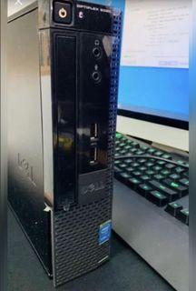 i7-4770s,4GB,320GB HDD Dell 9020 CPU with win10 ori and updated