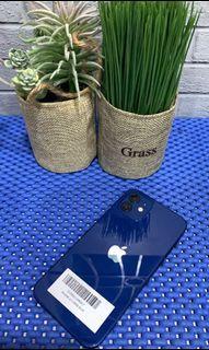 Iphone 12 128gb blue second original