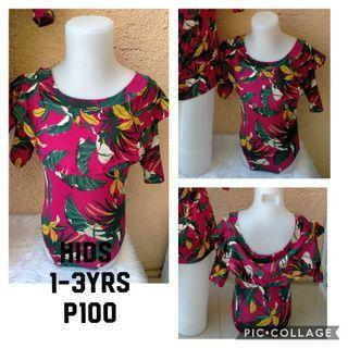 Kids Swimsuit 1-3yrs old