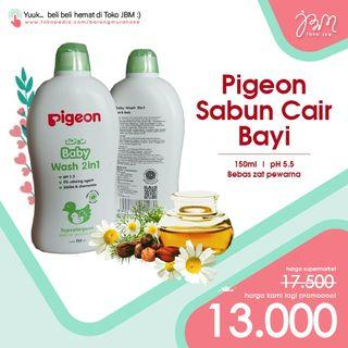 LAGI DISKON!! Pigeon Baby Wash 2in1 150ml