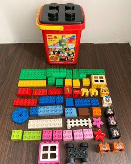 lego duplo disney mickey & friends (beli di japan) dapat sesuai foto