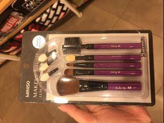 Make up brush set miniso