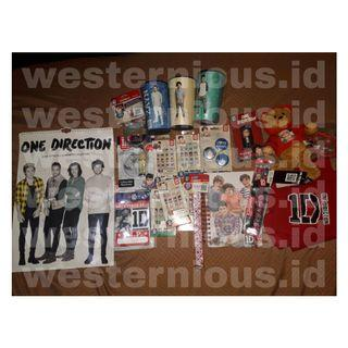 MERCHANDISE ONE DIRECTION 100% OFFICIAL 1D WORLD