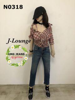 N0318 全新UNIMOG Jeans阿根廷時尚男友褲boy friend pants J-Lounge