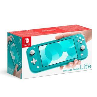 Nintendo Switch Lite Turquoise Console + 1 Year Warranty