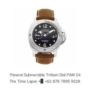 Panerai Submersible Tritium Dial PAM 24 'D'