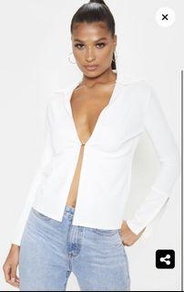 PLT white hook front top