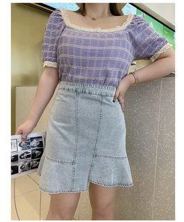 Plus Size Highwaist Skirt