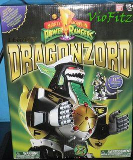 Power rangers - Dragonzord Green ranger - Bandai Legacy