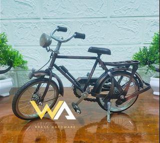 Promo Termurah Diecast Miniatur Sepeda Onthel Cowok - Sepeda Jawa
