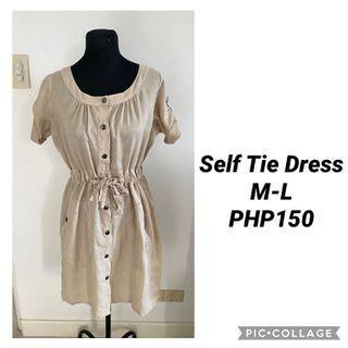 Self Tie Dress