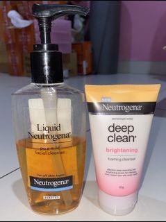 Bundle 6 - Neutrogena Facial Wash