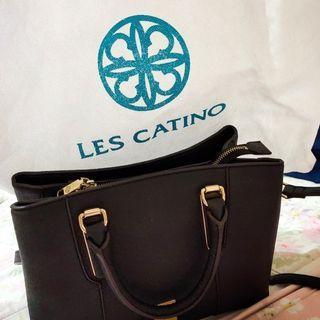Tas Original Les Catino warna hitam