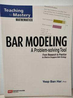 Teaching to Mastery: Bar Modeling – A Problem-solving Tool (Marshall Cavendish)
