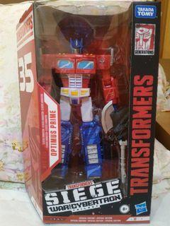 Transformers Siege WFC - Optimus Prime 35th anniversary