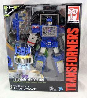 Transformers Titans retur - Soundwave - Leader class