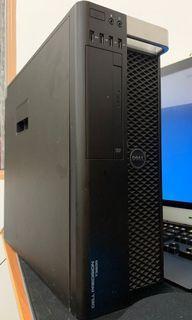 Xeon, 16GB Ram,2GB V7900 GPU,240GB SSD,Dell Precision T3600  with win10 ori