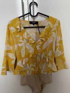 Yellow Top (floral) (pomelo)