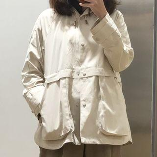 Zara風衣連帽外套