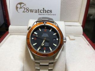 二手 Omega Seamaster Planet Ocean 2209.50.00- 28watches