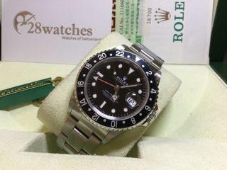二手 Rolex GMT-Master 16700BLK圈 停產- 28watches