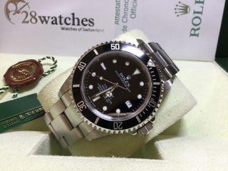 二手 Rolex Sea-Dweller 4000 16600 行貨- 28watches