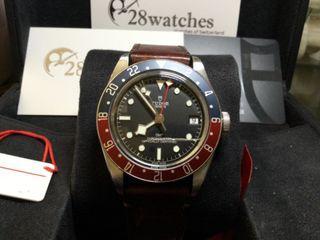 二手 Tudor Black Bay GMT 79830RB 新卡- 28watches