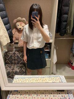 a la sha墨綠小香菇🍄A字裙