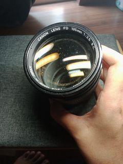 Canon Lens FD 135mm f2.5 s.c.